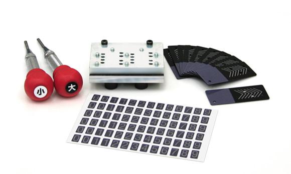 カードロック傘立II用スペアキー作成器具