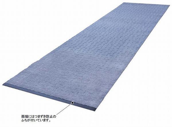 【送料無料】通路などにもおすすめのランナータイプ。ライトエコレインランナーふち付 90cm巾×25m