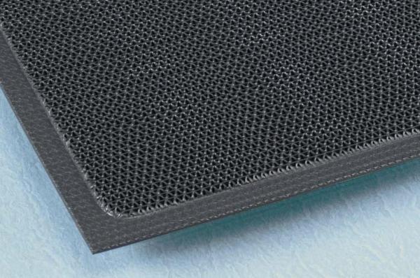 すべりにくく、除塵性の高いブレード形状のマット。スーパーダスピット 900×1500mm