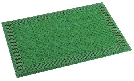 人工芝のようなソフトな感触です。テラエルボーマット 900×1500mm
