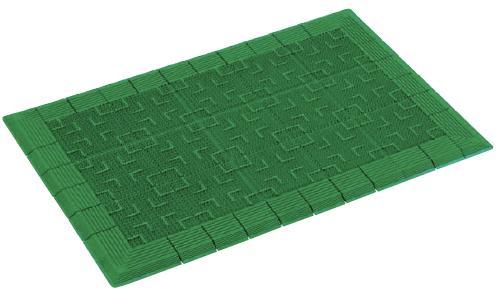マットに穴が空いているスルー形状マット。テラロイヤルマット 900×1800mm