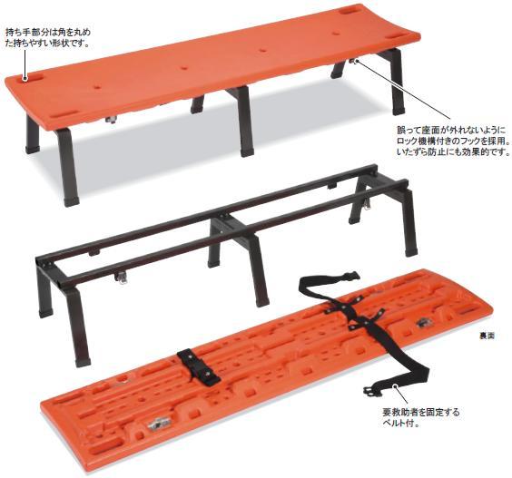 【送料無料】レスキューボードベンチ