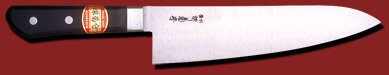 堺菊守 日本鋼 洋出刃 240mm