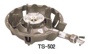 鋳物コンロ TS-502P 中型コンロ(種火付)