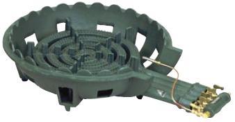 鋳物コンロ 四重コンロ TS-440用バーナー 種火無
