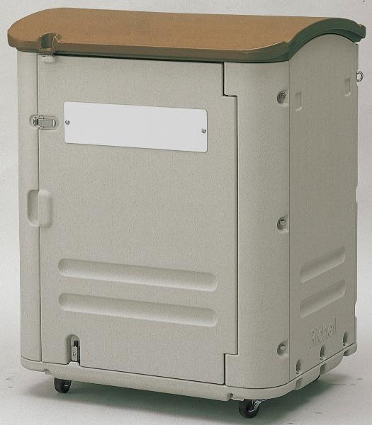 【送料無料】野外でも安心して使用できる大型保管容器ワイドストレージ400(キャスター付)