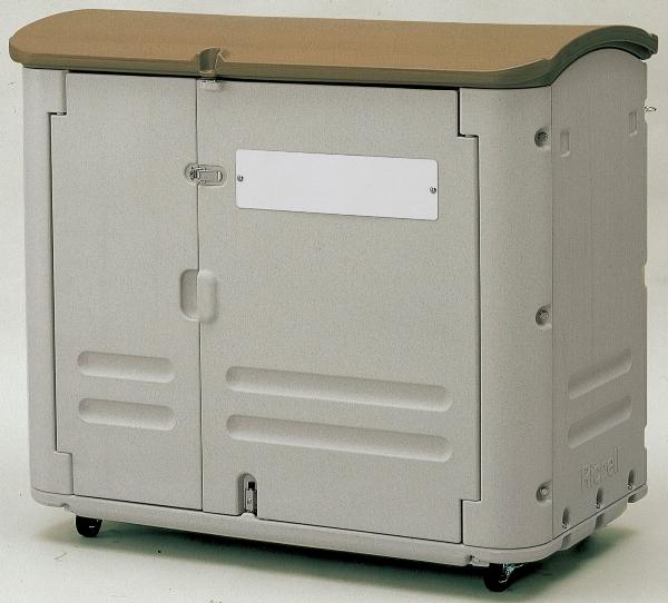 【送料無料】野外でも安心して使用できる大型保管容器ワイドストレージ600(キャスター付)