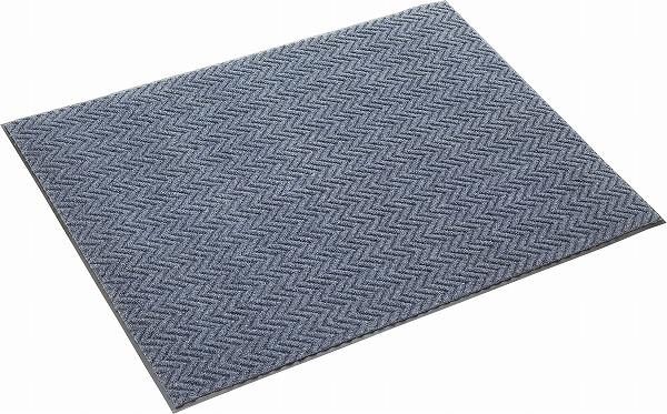 高密度繊維が泥や砂をかき落とします。歩行量の多いオフィスや商業施設などに。ロンハードマット NP-200(#18) 900×1800mm