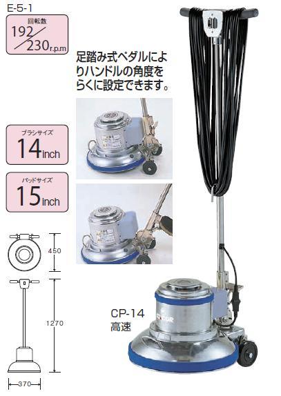 【送料無料】コンドルポリシャーCP-14型 E-5-1(高速)