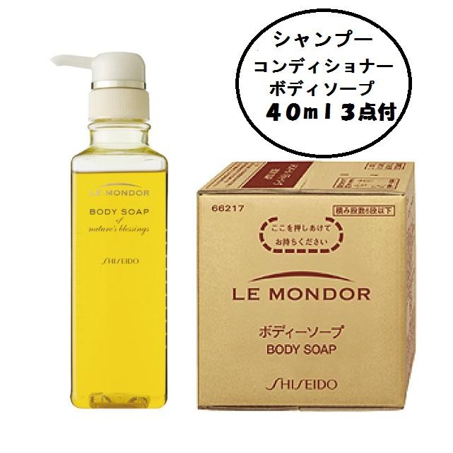 資生堂 ルモンドール 業務用ボディソープ 10L(お試しセットミニボトルおまけ付)