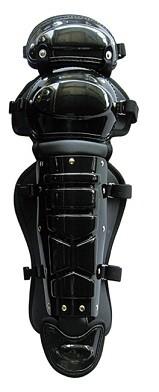 硬式レガーツ 膝パッド付 ブラック