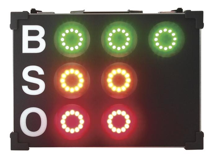 LEDカウント表示板