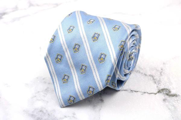 ヴァン VAN ブランド ネクタイ ゆうパケット 送料無料 中古 良品 保証 シルク ブルー ストライプ柄 SALENEW大人気!