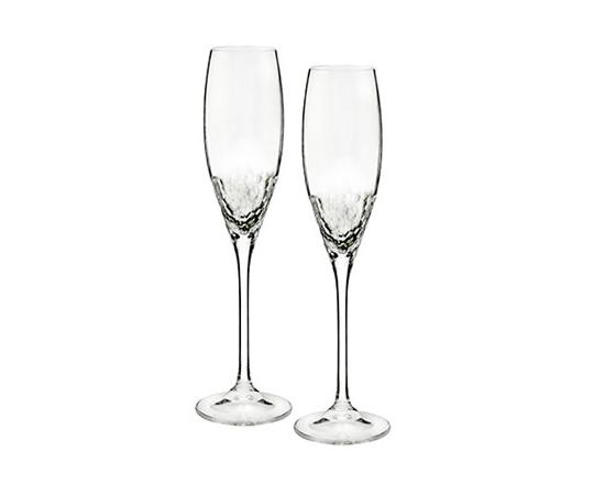 【ウェッジウッド】ヴェラ・ウォン クリスタル シークイン シャンパン ペア