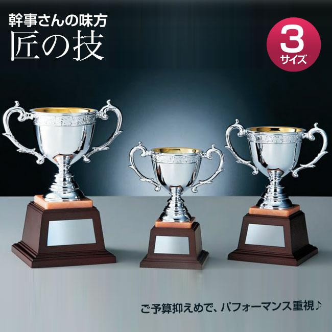 優勝カップ:「匠の技」樹脂成型カップ SILVER(高さ225x口径95mm)N0-2770-A【文字彫刻無料】[S/#BBS-3]