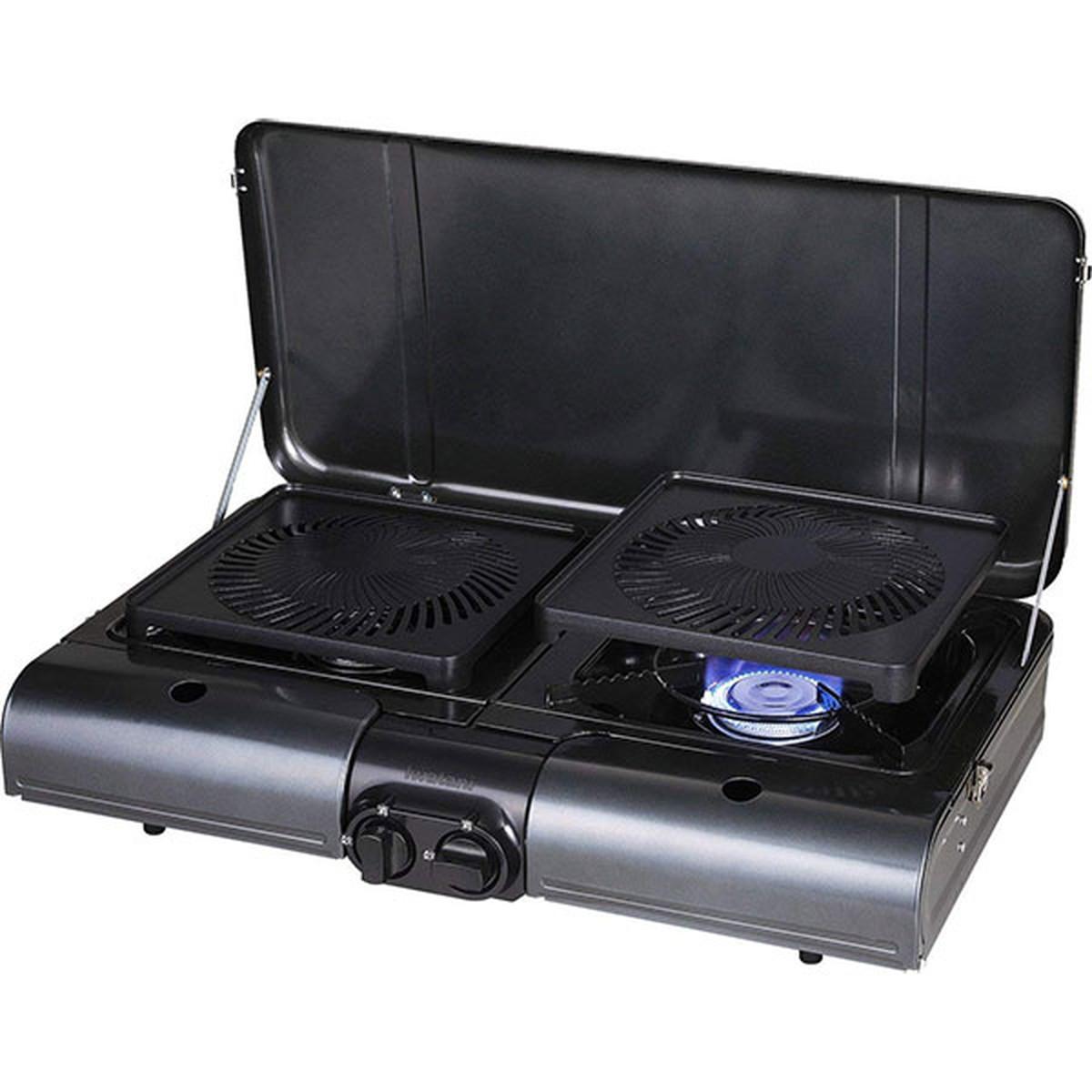 【在庫有】【あす楽対応】イワタニ テーブルトップ型BBQグリル フラットツイングリル CB-TBG-1【クーポン配布中】