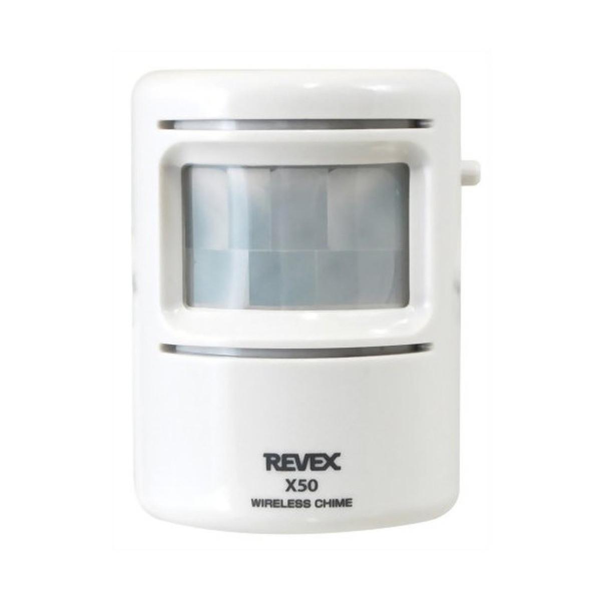 X800 REVEXワイヤレスチャイムXシリーズ 「人感送信機 X50」 315MHz帯 特定小電力【クーポン配布中】