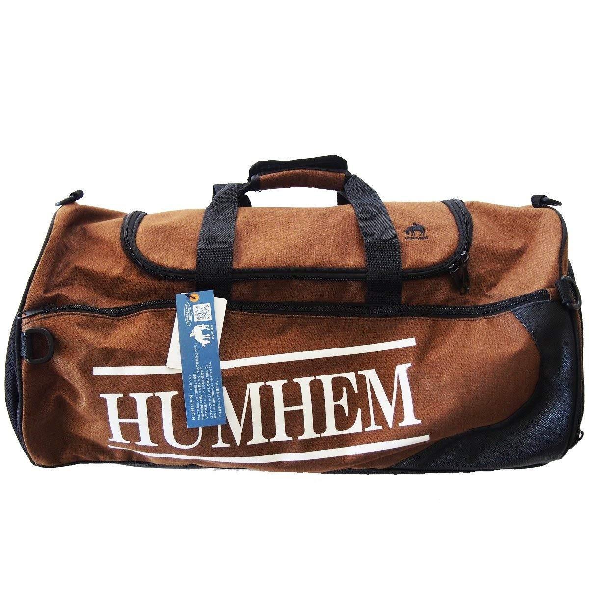 KH HUMHEM ボストンバッグ ブラウン【クーポン配布中】
