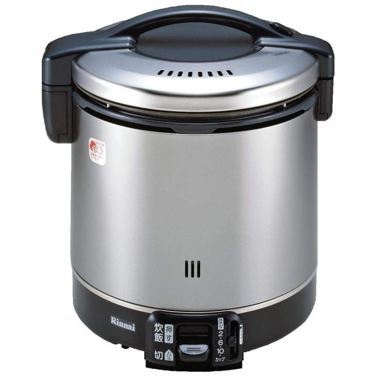 【エントリーでポイント10倍!!】リンナイ こがまる ガス炊飯器 11合炊き・ブラック・プロパンガスLPG用 RR-100GS-C LP