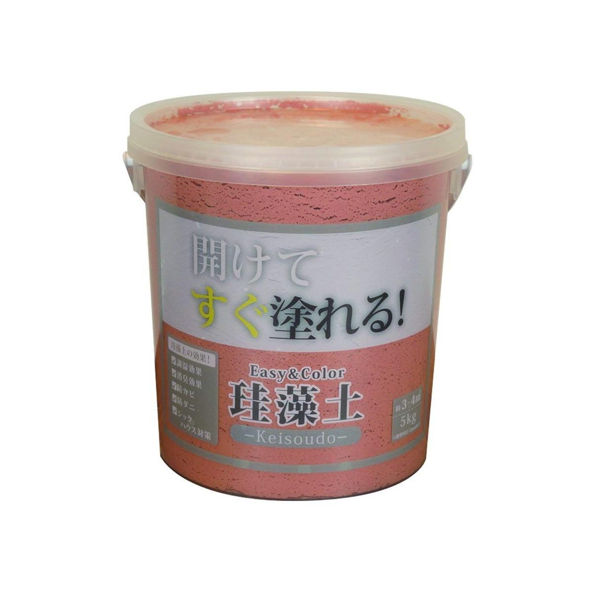 ワンウィル Easy&Color珪藻土 5kg テラコッタ 3793060008【クーポン配布中】