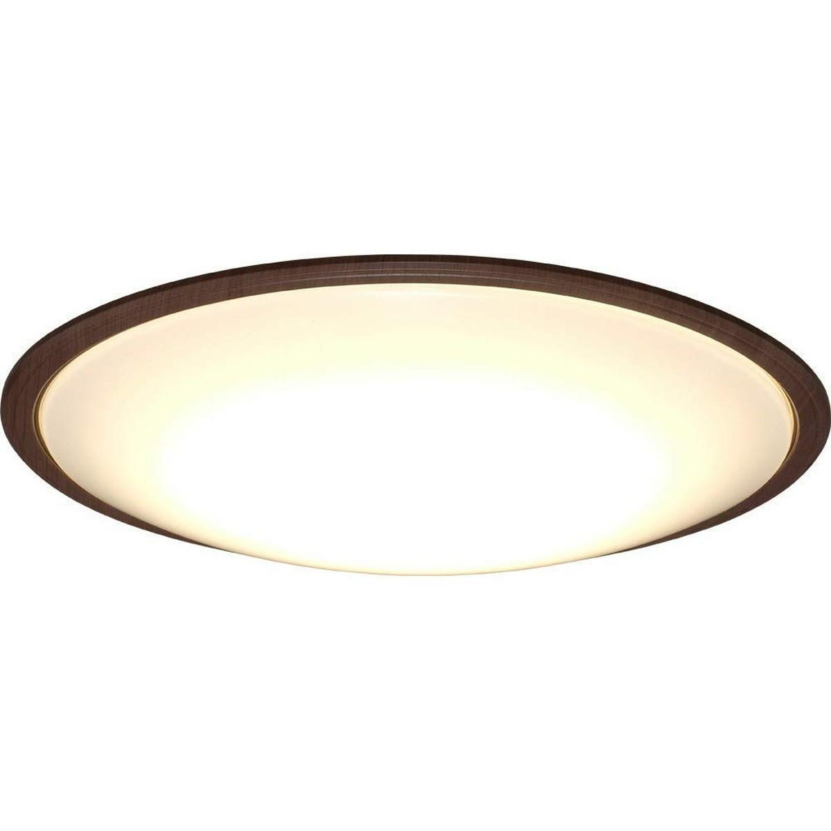 アイリスオーヤマ LED シーリングライト 調光 調色 タイプ ~8畳 メタルサーキットシリーズ ウッドフレーム ウォールナット CL8DL-5.1WFM【クーポン配布中】