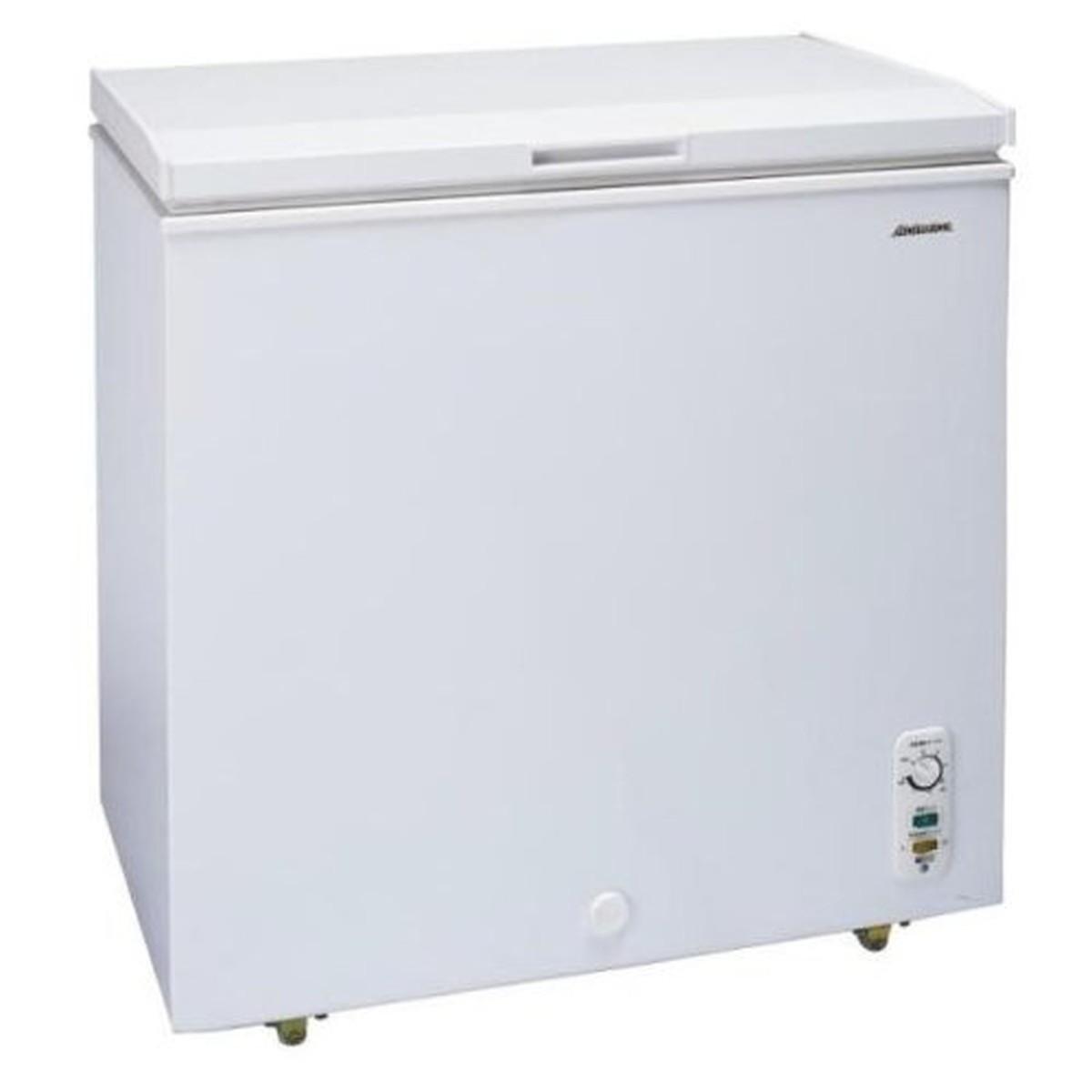【エントリーでポイント10倍!!】アビテラックス 102L チェストタイプ 冷凍庫(フリーザー)直冷式 ホワイトAbitelax ACF-102C