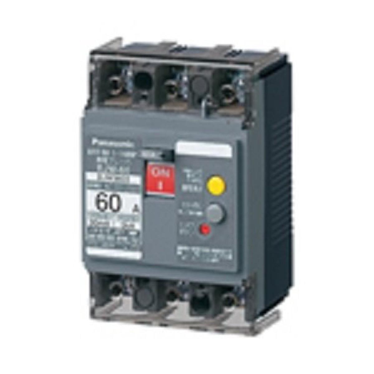 パナソニック(Panasonic) 漏電ブレーカ BJW型 O.C付(モータ保護兼用) BJW3603