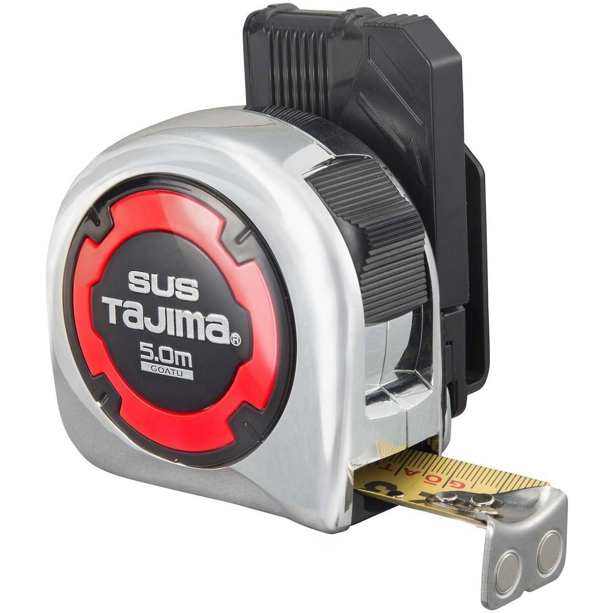 タジマ(Tajima) 剛厚セフステンロックマグ25 5.0m 25mm幅 メートル目盛 GASFSLM25-50【クーポン配布中】