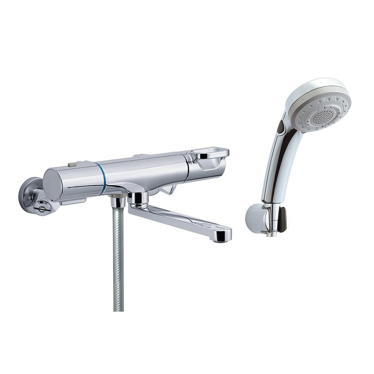 LIXIL(リクシル) INAX 浴室用 サーモスタット付シャワーバス水栓 エコフル多機能スイッチシャワー 凍結防止水抜き仕様 RBF-817NW【クーポン配布中】