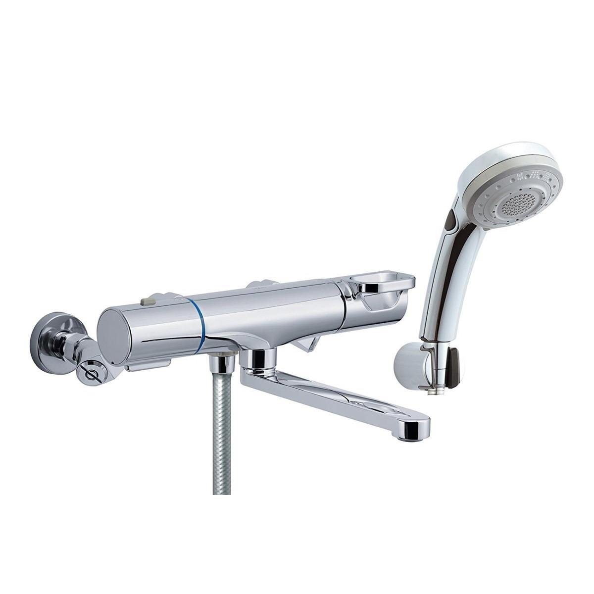 LIXIL(リクシル) INAX 浴室用 サーモスタット付シャワーバス水栓 エコフル多機能スイッチシャワー 回せるもん RBF-817ZW