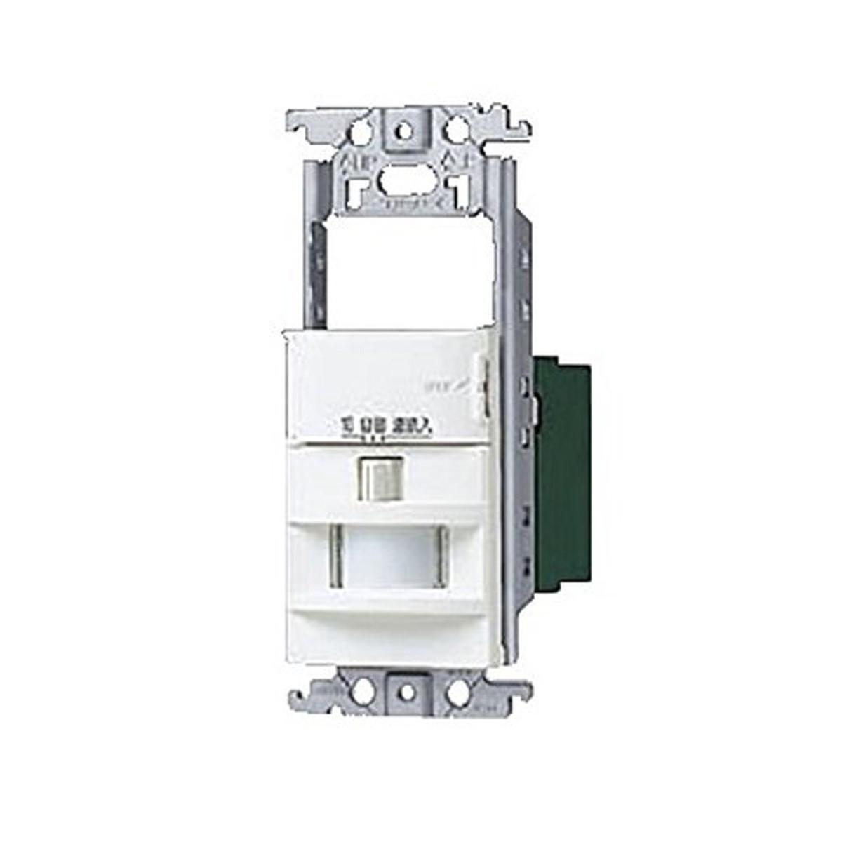 パナソニック(Panasonic) 壁取付熱線センサ付自動スイッチ スイッチスペース付 ホワイト WTK18115W【クーポン配布中】