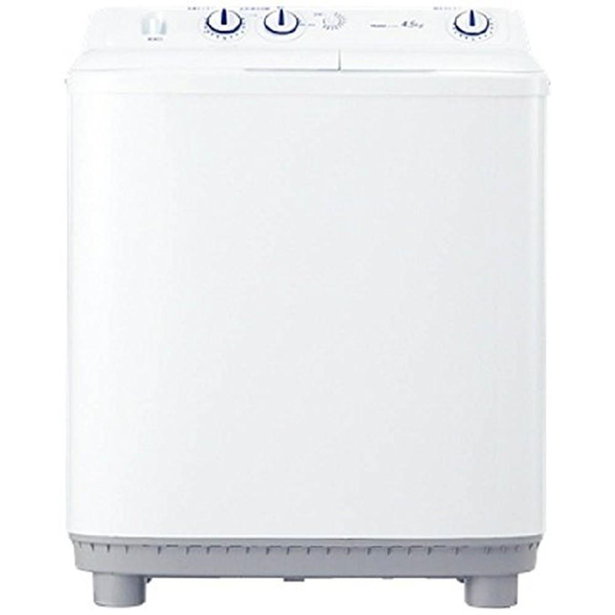 【エントリーでポイント9倍】ハイアール 4.5kg 2槽式洗濯機 ホワイトHaier JW-W45E-W【05/09 20:00~05/16 01:59】