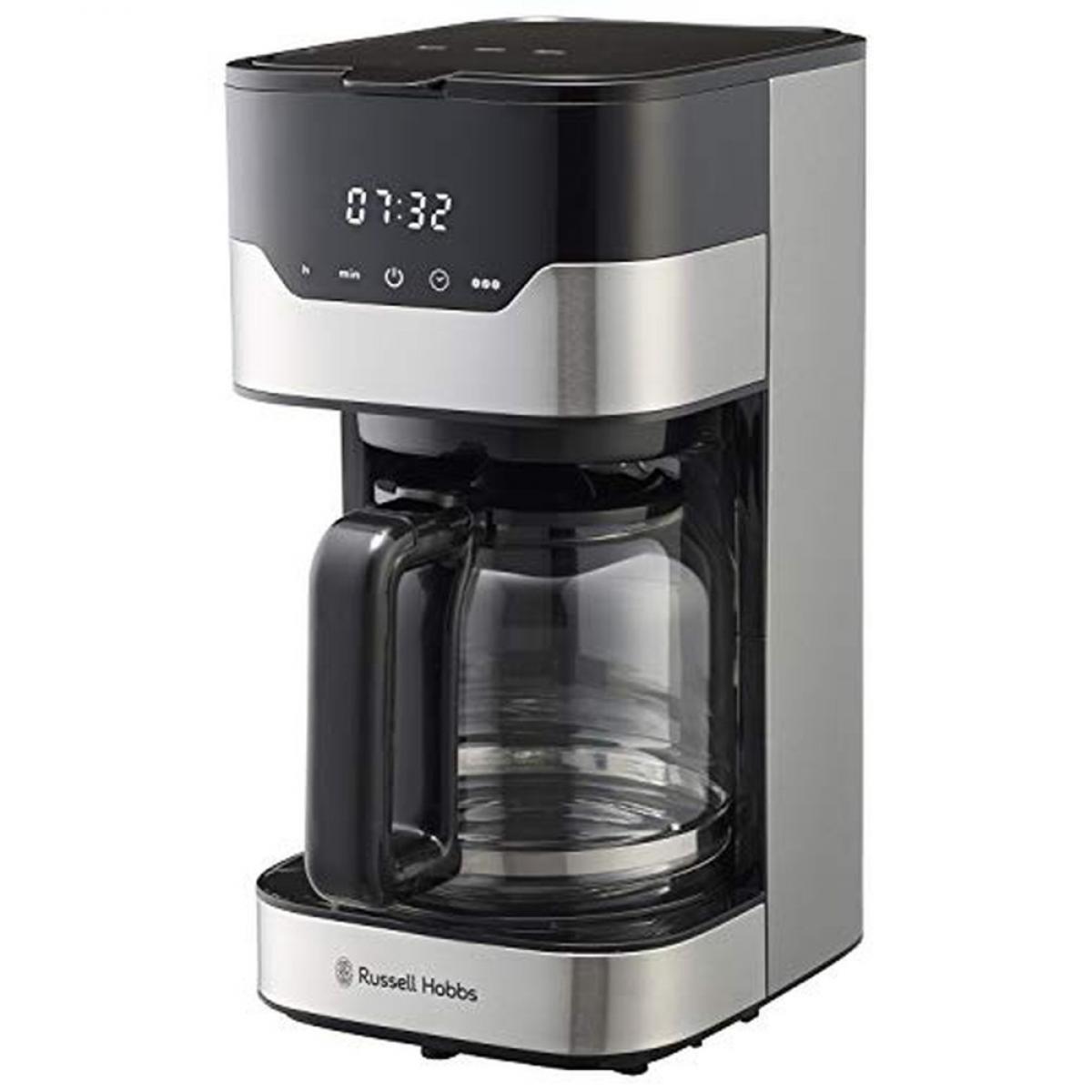ラッセルホブス コーヒーメーカー グランドリップ 8杯 ペーパーフィルター不要 タイマー 7651JP