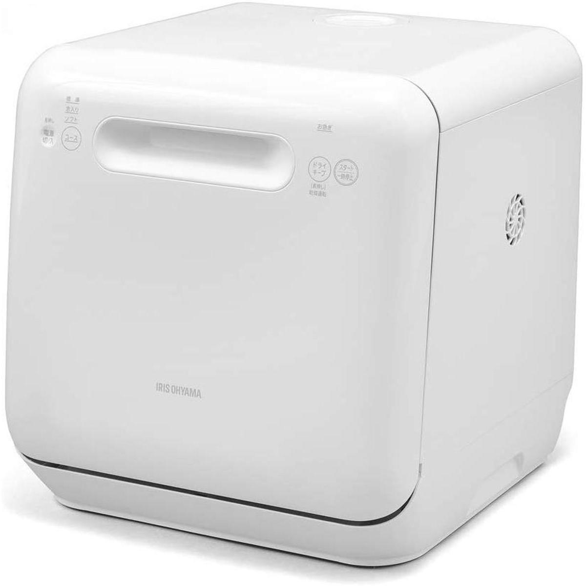 【エントリーでポイント9倍】アイリスオーヤマ 食洗機 食器洗い乾燥機 工事不要 コンパクト 上下ノズル洗浄 メーカー保証 ホワイト ISHT-5000-W【05/09 20:00~05/16 01:59】