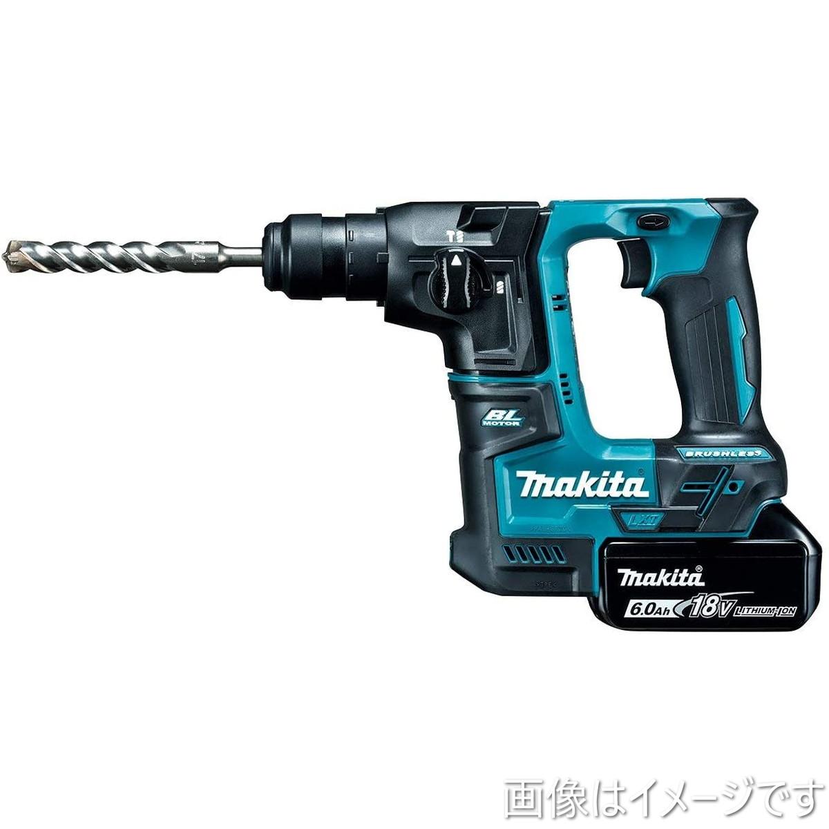 マキタ(Makita) 17ミリ充電式ハンマドリル 18V 6Ah バッテリ2本・充電器・ケース付 HR171DRGX