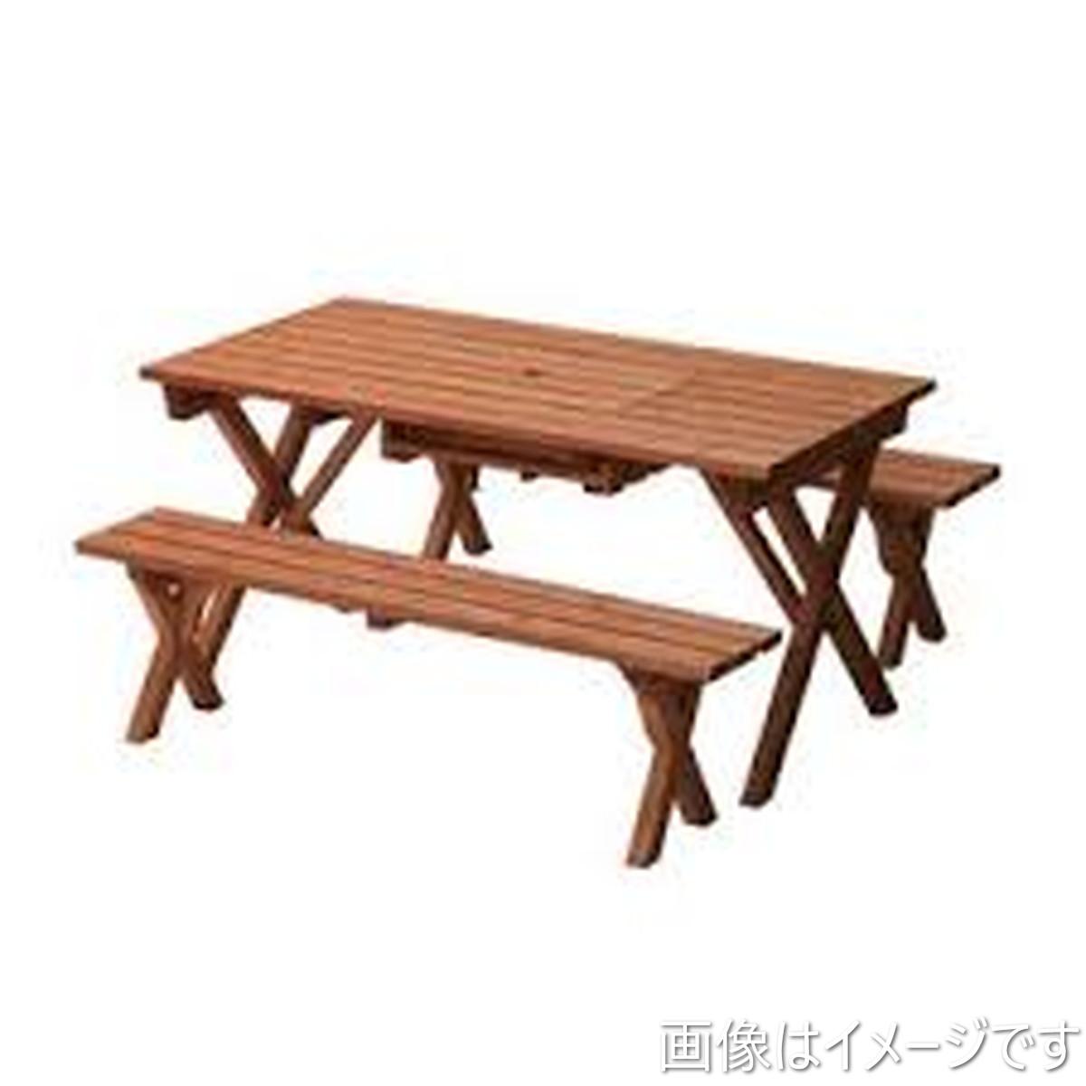 バーベキューテーブル3点セット BQT-140S