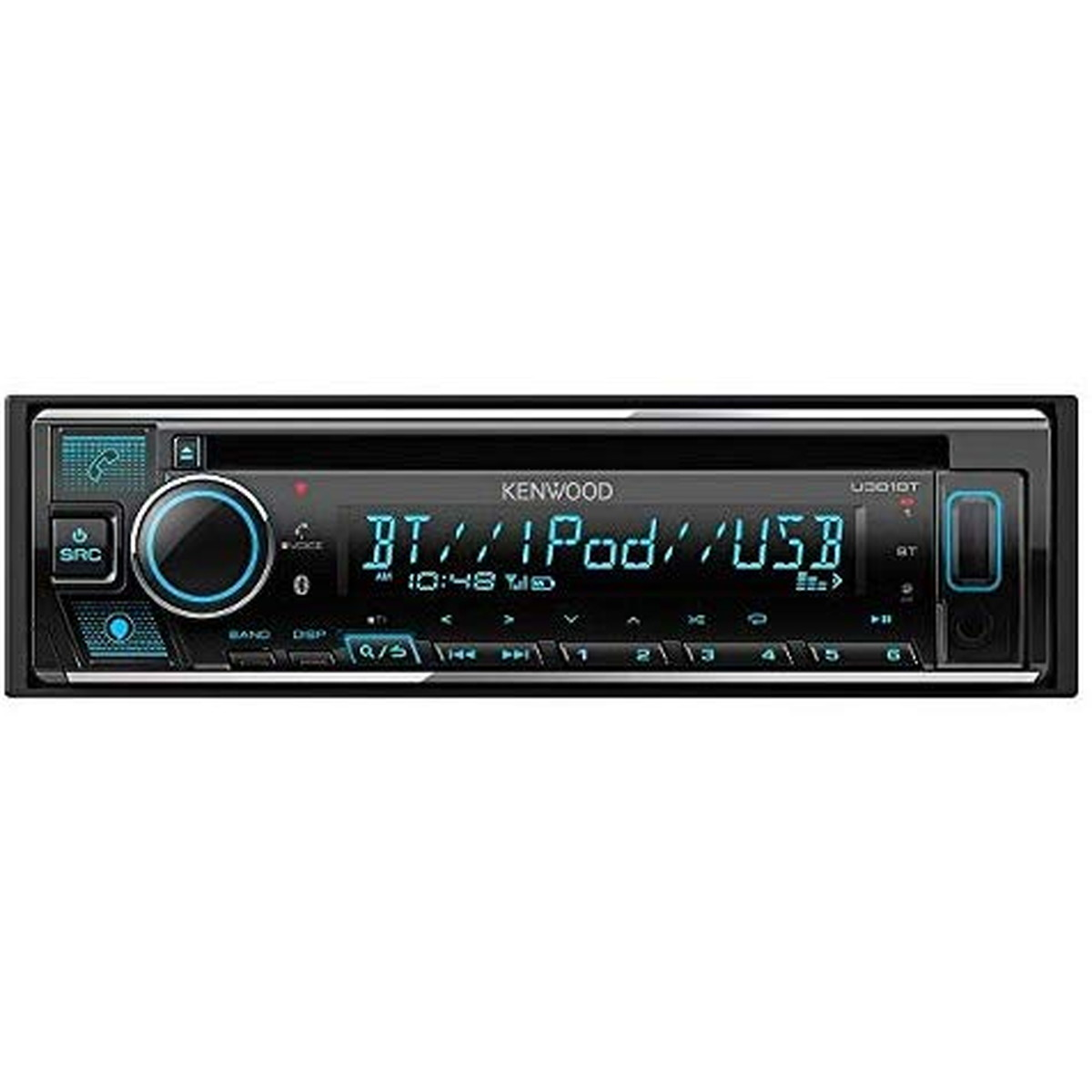 KENWOOD/ケンウッド Bluetooth Alexa 対応 バリアブルイルミ 1DINオーディオデッキ U381BT