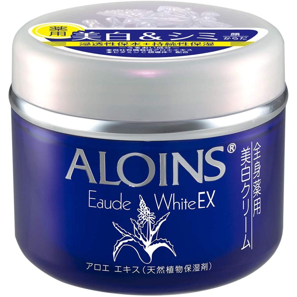 アロインス化粧品 医薬部外品 オーデクリームホワイトEX 流行のアイテム クリアフローラル 180g 国内即発送 ボディクリーム