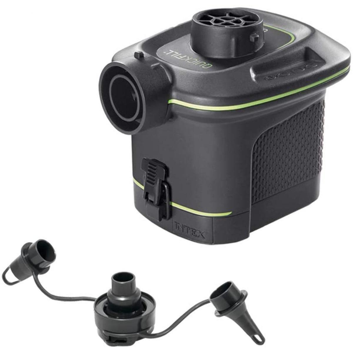 INTEX インテックス 空気入れ 注目ブランド ポンプ バッテリーポンプ 電池式 電動空気入れ 66638 電動 出色 自動空気入れ プール用 日本正規品