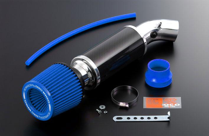 代引不可 適合要確認 ワゴンR パワーチャンバー CBA-MH23S 2008/9-2009/10 パワーチャンバーK-Car ライトブルー ZERO1000/零1000 (106-KS010B