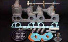 インテークマニホールド 1019 ピロリンゲージ式 Z型 Z16 Z18 Z20 亀有エンジンワークス