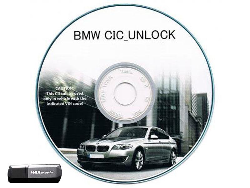 BMW TVキット E61 LCI 5シリーズ(2008/11~2012/08)用TVキャンセラー CICアンロック CIC UNLOCK