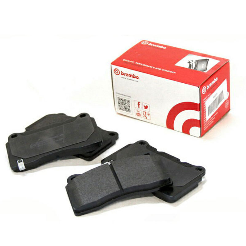 アウディ RS6 ブレーキパッド 4GCRDS 13~ フロント ブラック Brembo/ブレンボ (P50 127