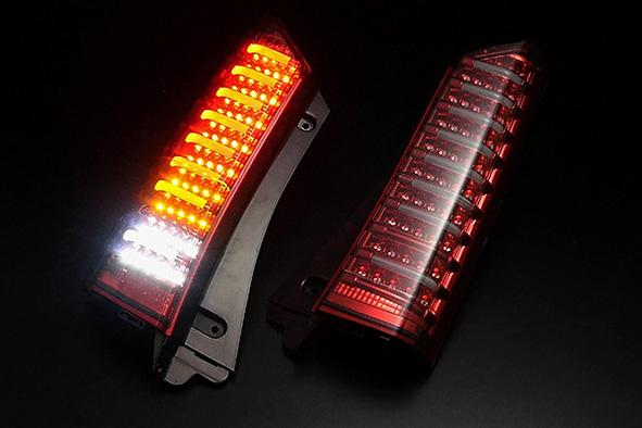 N-BOX LEDテール JF1/JF2 H23/12~H29/09 フルLEDテールTYPE2 シーケンシャルウインカー CLEARWORLD/クリアワールド (CTH-53/CTH-52