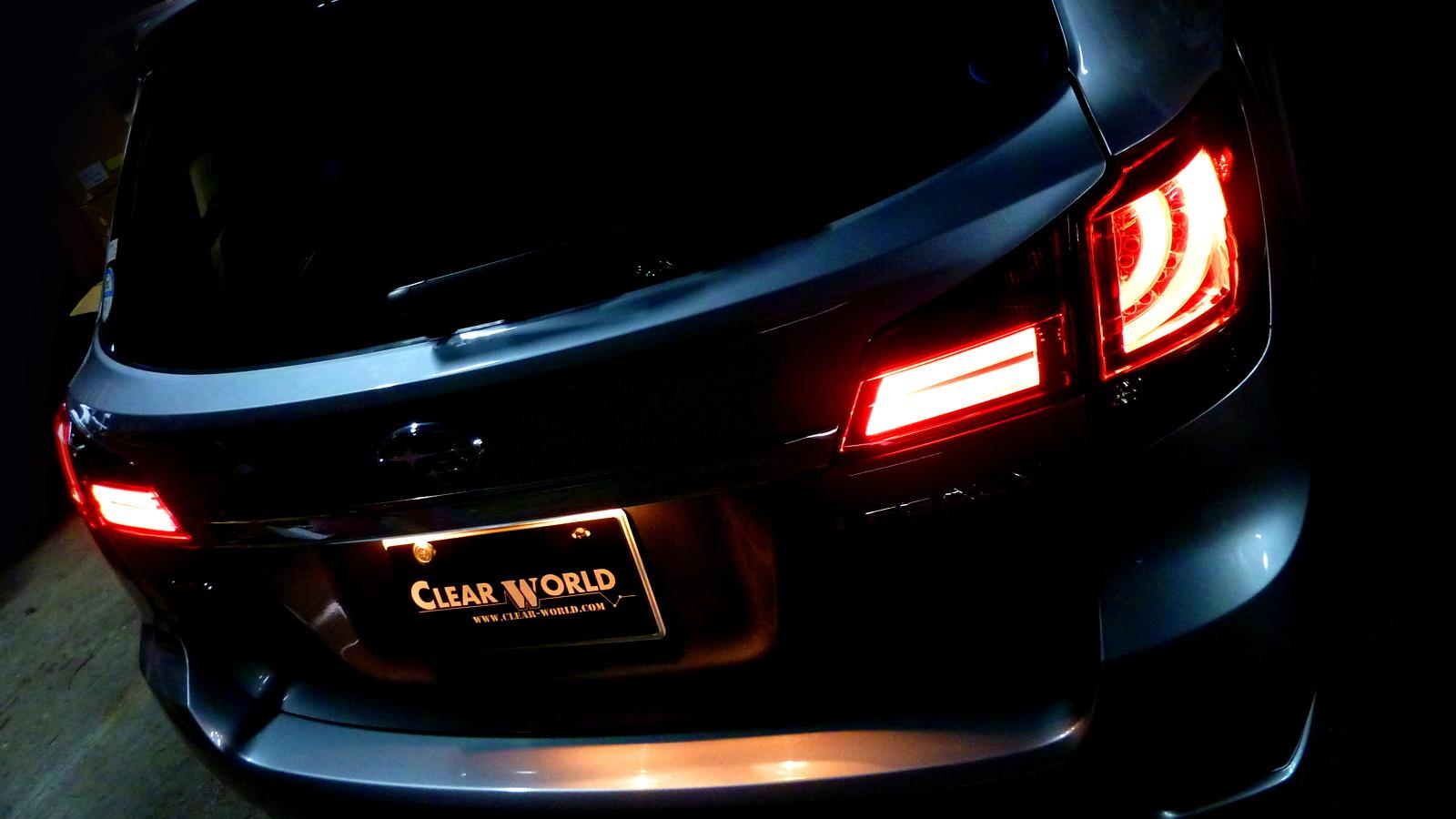 レガシィツーリングワゴン LEDテール BR9 BRG BRM H21/5~H26/9 フルLEDテール シーケンシャルウインカー CLEARWORLD/クリアワールド (RTF-06/CTF-07