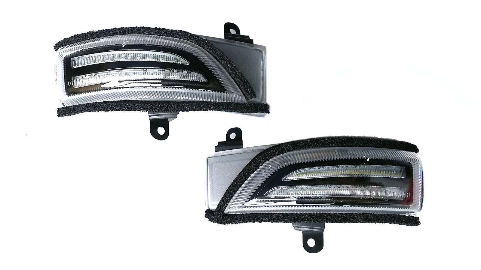 レガシィワゴン LEDドアミラーウインカー BR系 シーケンシャルウインカー クリア CLEARWORLD/クリアワールド (DWF-01