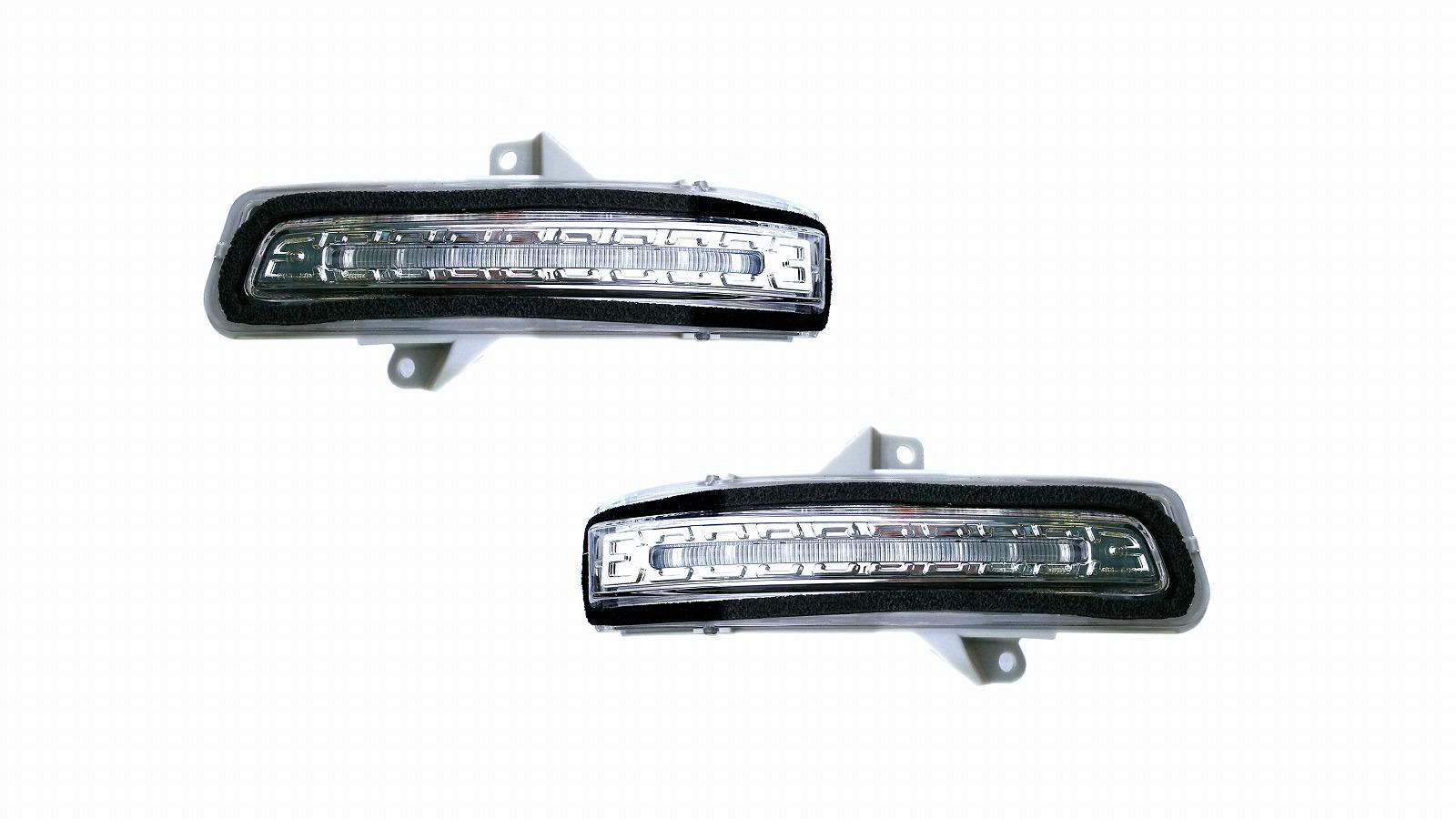 スペーシア LEDドアミラーウインカー MK42S シーケンシャルウインカー クリア CLEARWORLD/クリアワールド (DWS-01/DWS-02