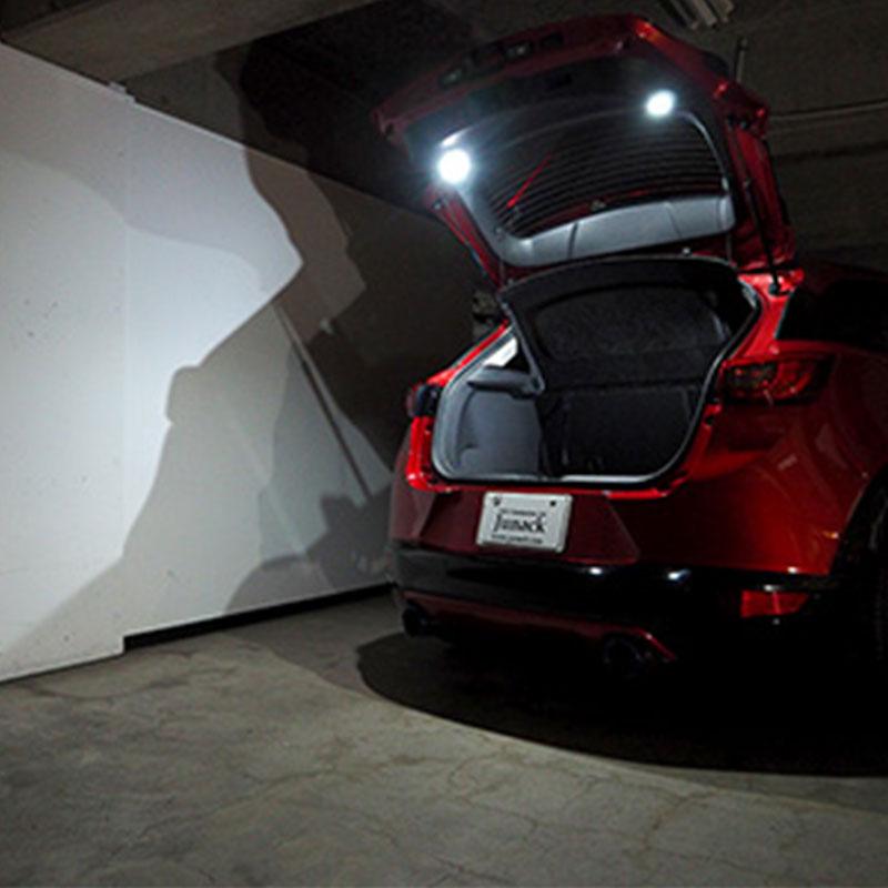 ハリアー LEDカーゴランプ 60系 LEDIST パネル ブラック Junack/ジュナック (LCL-TY02【差替】