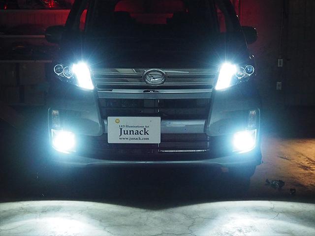 LEDIST ZERO LEDフォグバルブ H8 H11 H16 6500k Junack/ジュナック (LFB-Z65【差替】