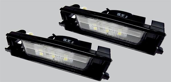 ヴィッツRS LEDトランスナンバー 90系 05.02~10.11 ユニット毎交換タイプ Junack/ジュナック (TNL-15【差替】